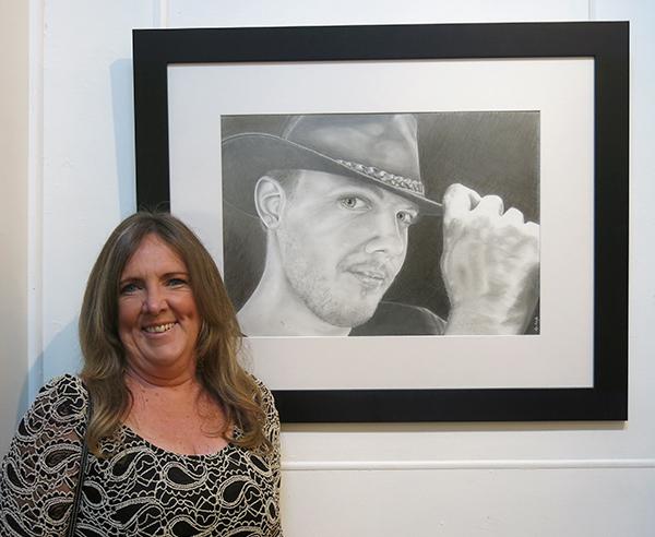 Maree Noordhuis with 'Stockman's Salute'