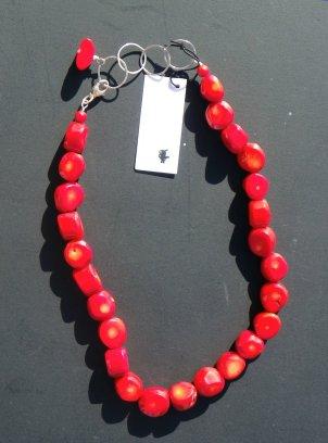 I Sharon Cornthwaite Red Coral necklace