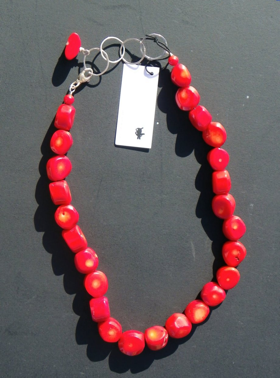 I Sharon Cornthwaite Red Coral necklace
