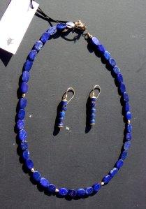 H Sharon Cornthwaite Lapis lazuli necklace